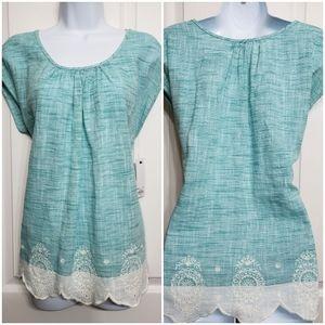 Sonoma women's sleeveless blouse